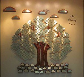 Yoakum Community Hospital Foundation Giving Tree